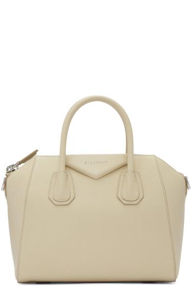 Givenchy - Beige Small Antigona Bag