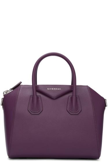 Givenchy - Purple Small Antigona Bag