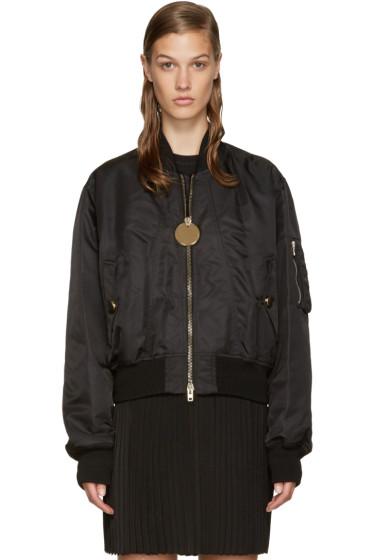 Givenchy - Black Bomber Jacket