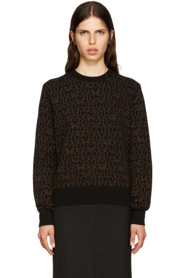 Givenchy - Black Logo Sweater