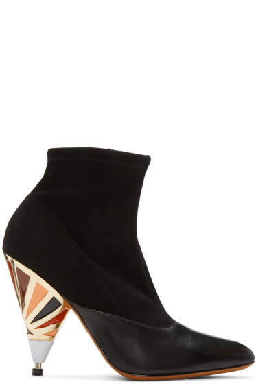 Givenchy - Black Prism Heel Boots