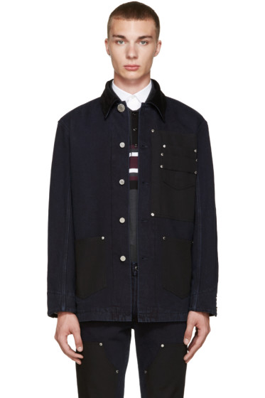 Givenchy - Navy Denim Jacket