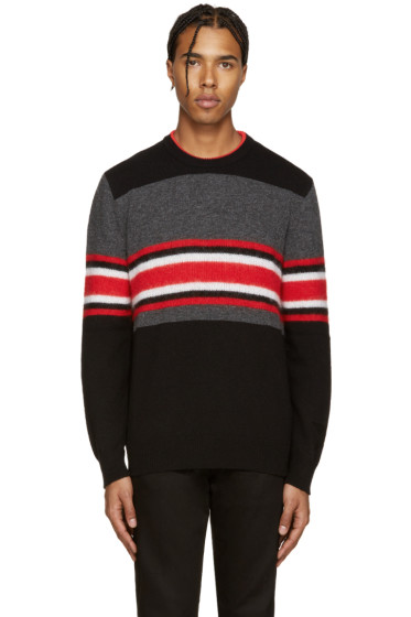 Givenchy - Multicolor Wool Striped Pullover