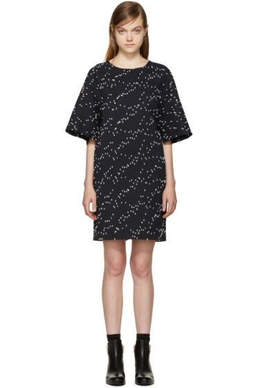 3.1 Phillip Lim - Navy & White Bouclé Dress