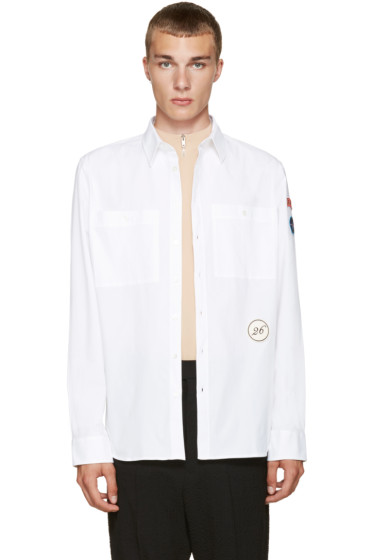 Raf Simons - White Patches Shirt