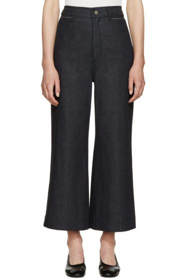 Proenza Schouler - Indigo Wide-Leg Jeans