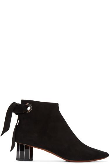 Proenza Schouler - Black Suede Boots