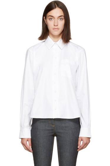 Carven - White Long Sleeve Shirt