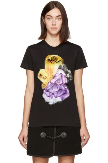 Carven - Black Crystal T-Shirt