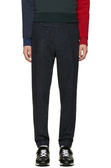 Carven - Navy Cropped Trousers