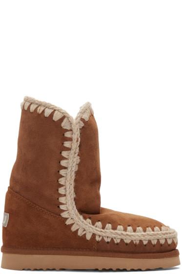 Mou - Brown Eskimo 24 Boots