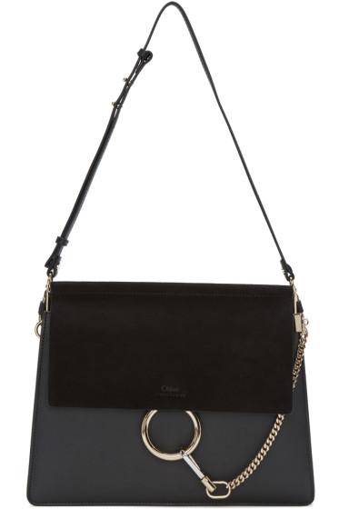 Chloé - Black Medium Faye Bag