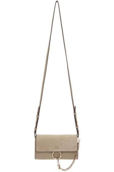 Chloé - Grey Nano Faye Wallet Bag