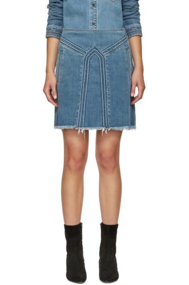 Chloé - Blue Denim Miniskirt