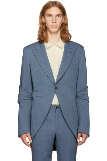 Comme des Garçons Homme Plus - Blue Tailcoat Blazer