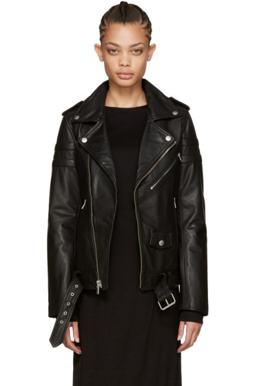 BLK DNM - Black Leather 8 Jacket