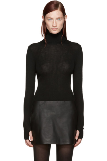 BLK DNM - Black Merino 85 Turtleneck