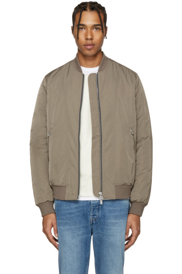 BLK DNM - Taupe 85 Bomber Jacket