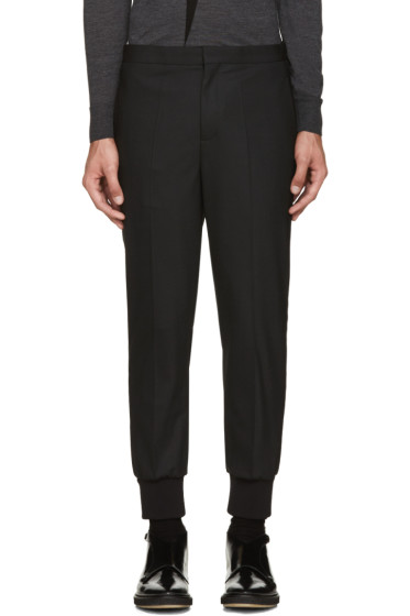 Neil Barrett - Black Tuxedo Trousers