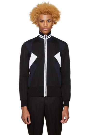 Neil Barrett - Tricolor Knit Modernist Sweater
