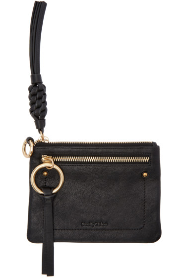 See by Chloé - Black Flat Twin Pouch