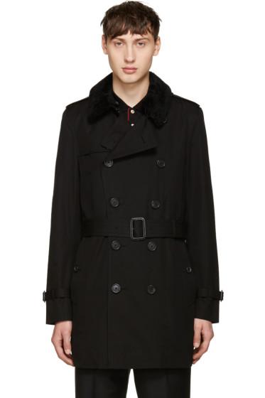 Burberry - Black Kensington Trench Coat