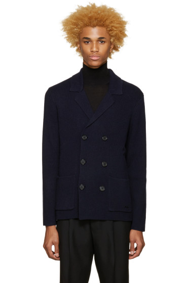 Burberry - Navy Greatham Cardigan