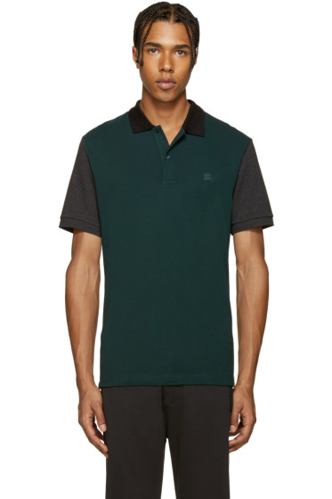 Burberry - Green Gravenhurst Polo