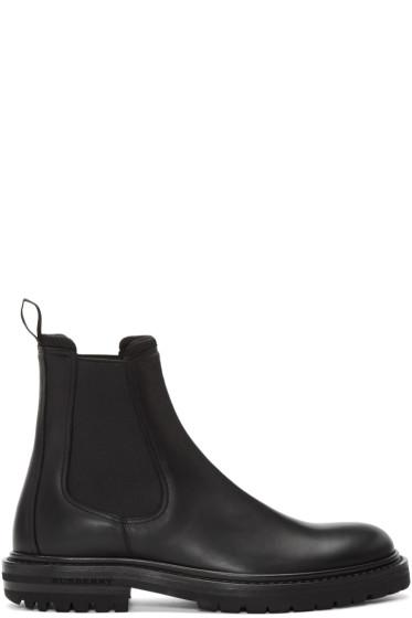 Burberry - Black Farnell Chelsea Boots