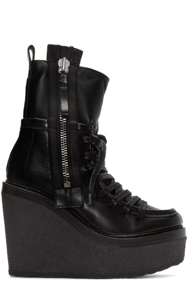 Pierre Hardy - Black Manga Ankle Boots