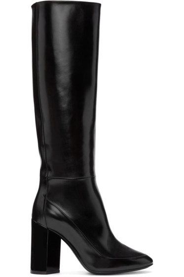 Pierre Hardy - Black Illusion Knee-High Boots