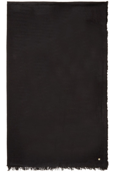 Ann Demeulemeester - Black Cashmere Scarf