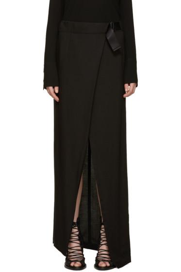Ann Demeulemeester - Black Infinity Skirt