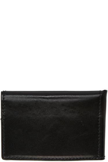 Ann Demeulemeester - Black Bifold Card Holder