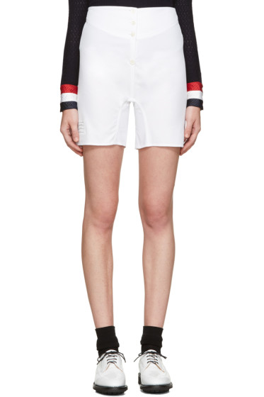 Thom Browne - White Backstrap Boxer Shorts