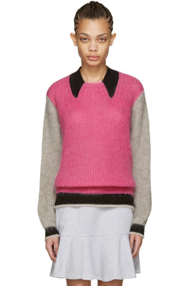 Kenzo - Pink Mohair Sweater