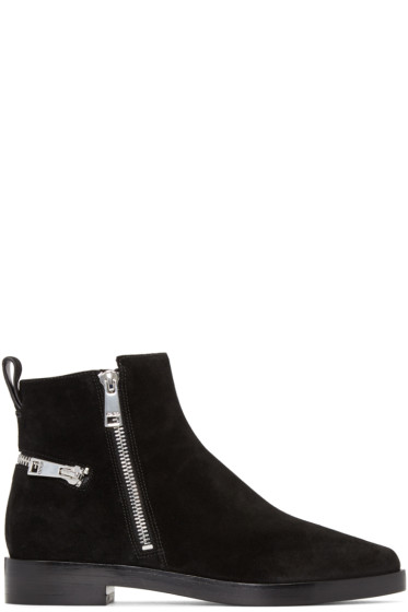Kenzo - Black Totem Ankle Boots