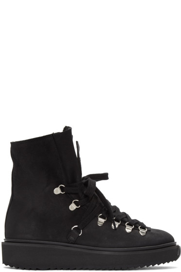 Kenzo - Black Nubuck Ankle Boots
