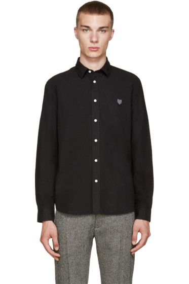 Kenzo - Black Embroidered Tiger Shirt