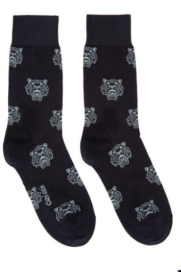 Kenzo - Navy Tiger Socks