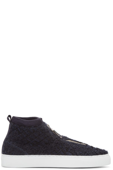 Diemme - Navy Tweed Fontesi Sneakers