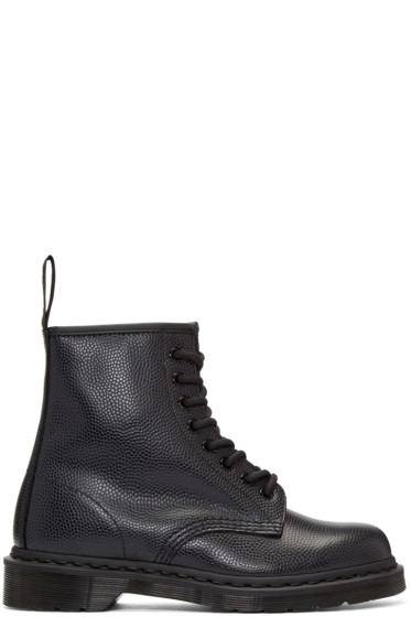 Dr. Martens - Black Eight-Eye 1460 Boots