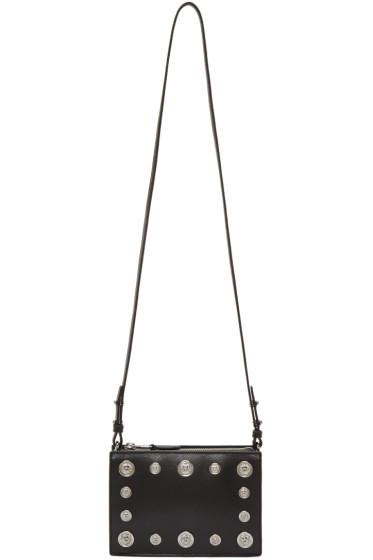 Versus - Black Studded Medallion Bag