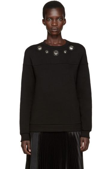 Versus - Black Lion Medallion Sweatshirt