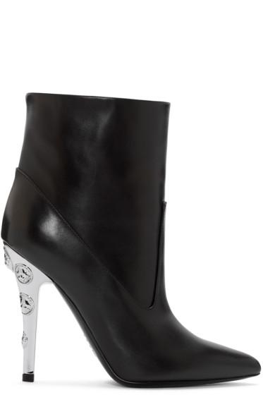 Versus - Black Medusa Boots