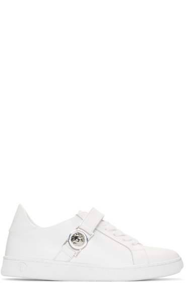 Versus - White Lion Medallion Sneakers