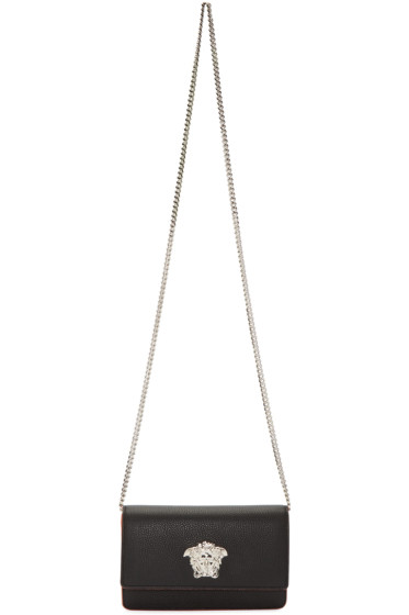 Versace - Black Small Medusa Shoulder Bag
