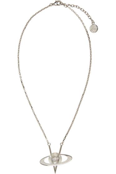 Versace - Silver Pendant Necklace