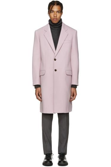 Versace - Pink Wool Coat