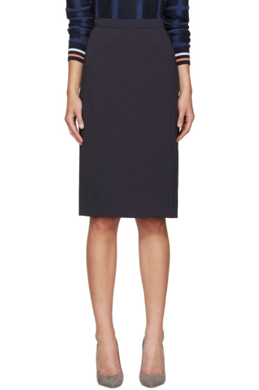 Altuzarra - Navy Miro Pencil Skirt